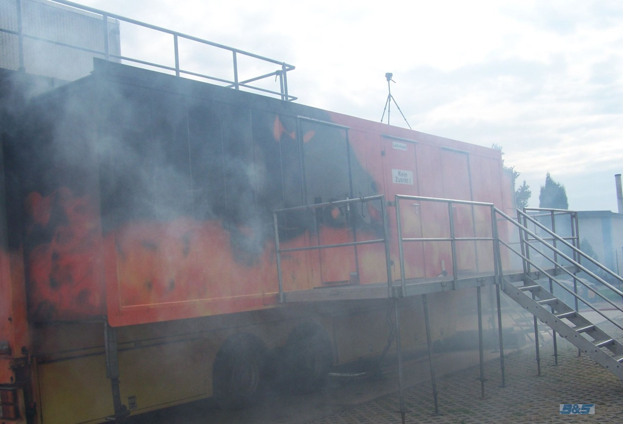 mobile Brandsimulationsanlage Fire Trainer 112